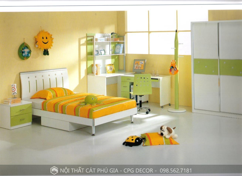 thiết kế nội thất trẻ em