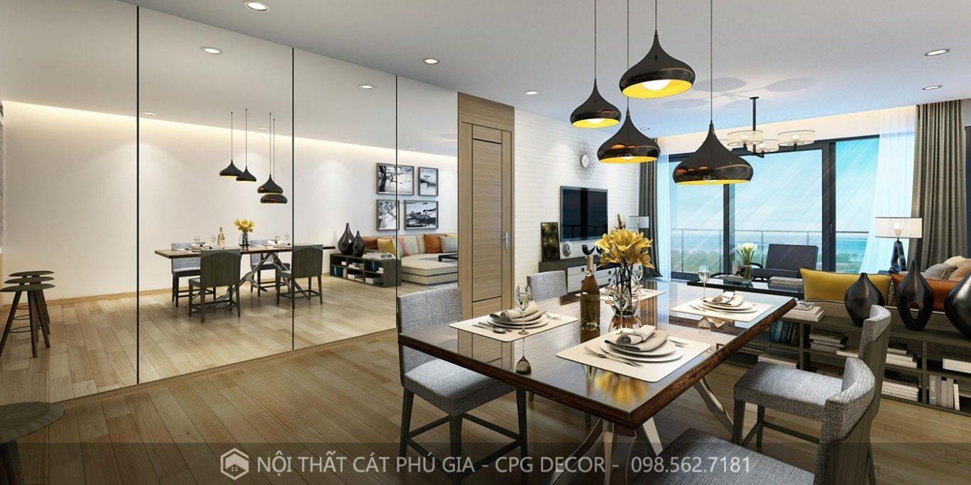 Cách chọn màu sắc, bài trí nội thất phòng khách phù hợp