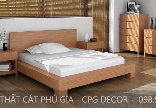 Căn phòng trở nên đẹp và tinh tế hơn khi có giường ngủ