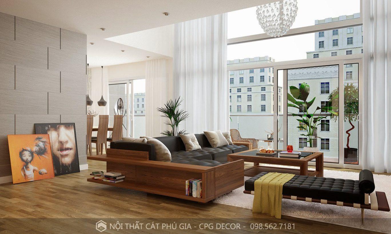Bạn có thể tùy chọn kích thước sofa cho căn phòng của mình