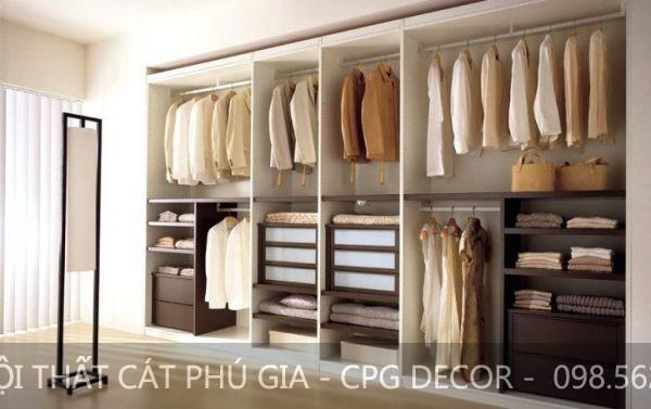 Tủ áo là vật dụng cần thiết giúp bạn cất giữ quần áo