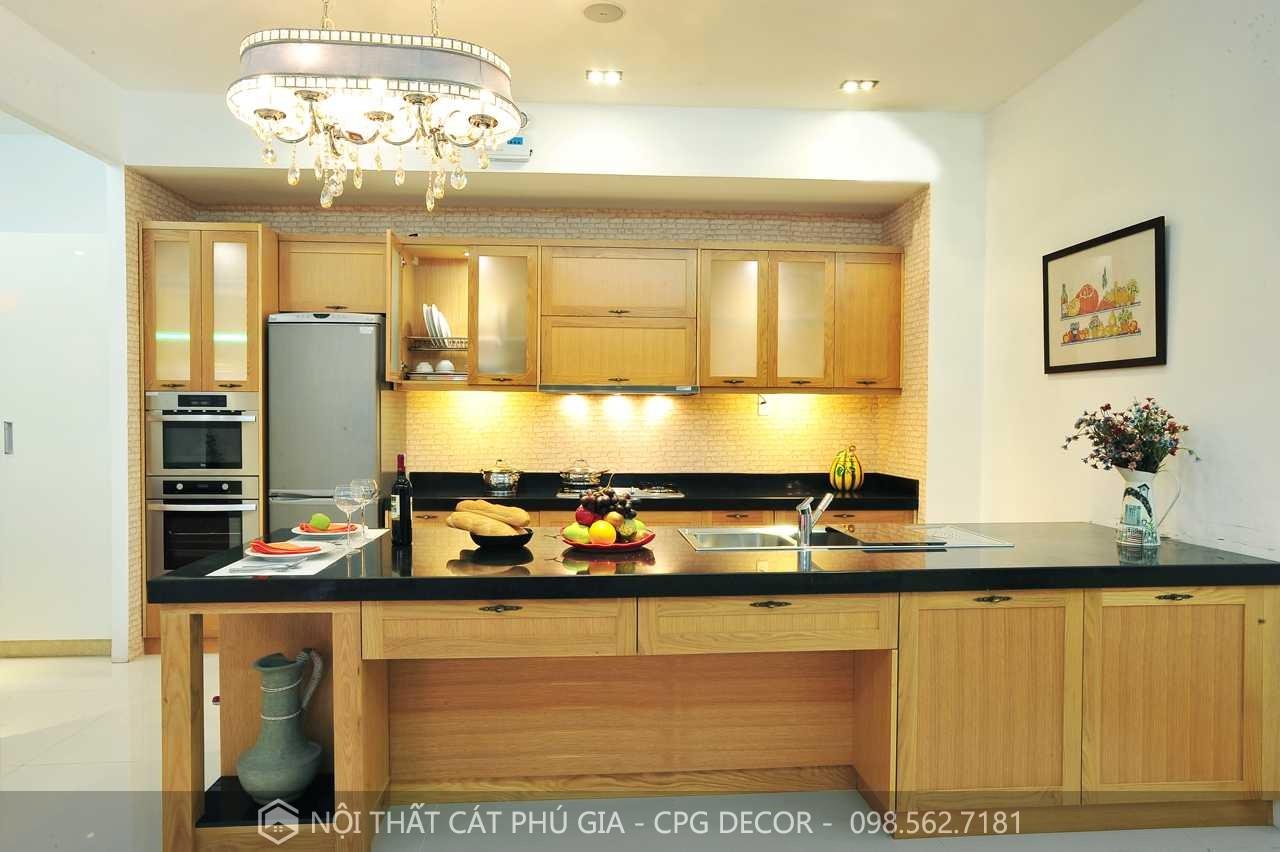 đồ gỗ nội thất phòng bếp