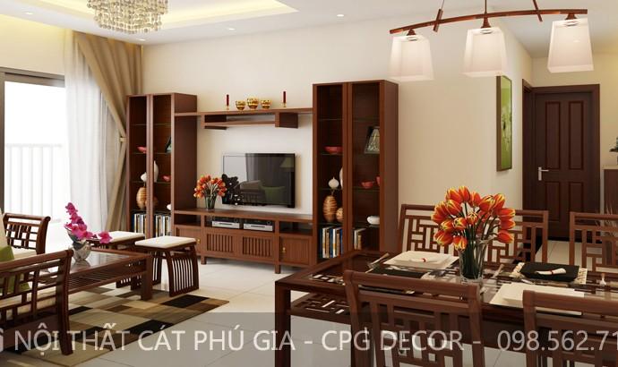 đồ gỗ nội thất phòng khách
